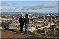NT2674 : Calton Hill, Edinburgh by Walter Baxter