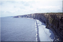 SS9168 : The coastline northwest of Nash Point by Colin Park