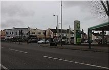 TQ5087 : Rush Green Road at the junction of Dagenham Road by David Howard