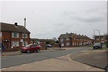 TQ6479 : Longhouse Road, Chadwell St Mary by David Howard