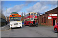 SD8400 : Heritage Buses outside the Museum of Transport by David Dixon