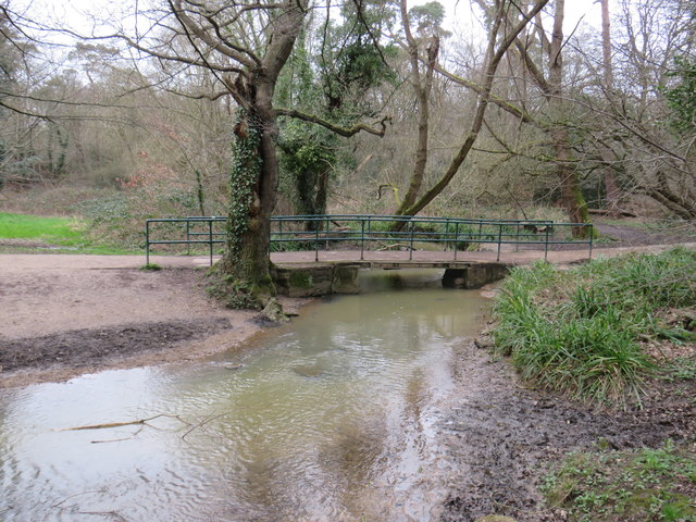 Bridge over Turkey Brook, near Enfield