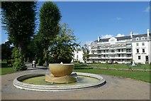 TR1457 : Fountain in Dane John Gardens by DS Pugh
