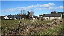 NJ1264 : Bruntlands Farm Cottages by Anne Burgess