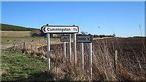 NJ1366 : Signposts by Anne Burgess