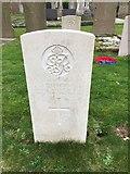 SC2482 : 33032 Private Patrick O'Brien headstone by Richard Hoare