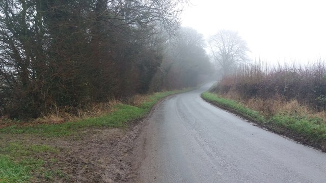 Road heading to the A436