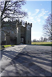 NZ1221 : Raby Castle entrance by Malcolm Neal