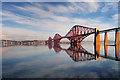 NT1378 : Forth Bridges by David Dixon