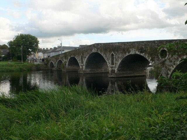 The bridge over the River Barrow