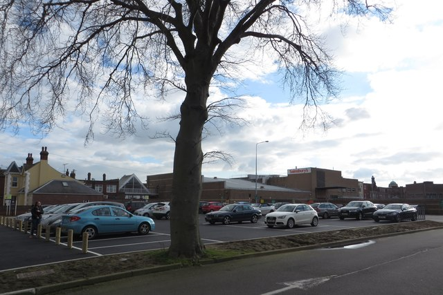 Westleigh House site - now extension of car park
