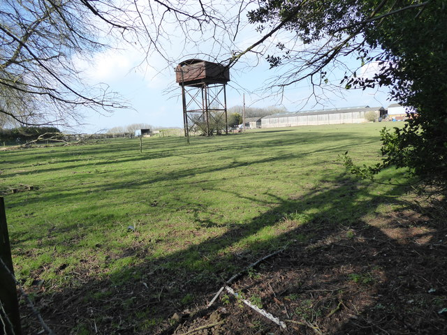 Disused water tower, Baydon Manor Farm