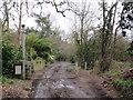 TQ3299 : Flash Lane, near Enfield by Malc McDonald