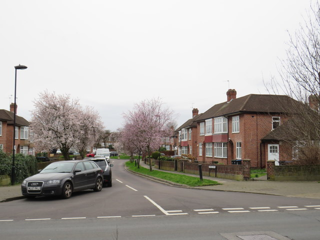 Inverness Avenue, Forty Hill, near Enfield