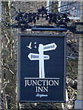 SE1421 : Sign for the Junction Inn, Brighouse by JThomas