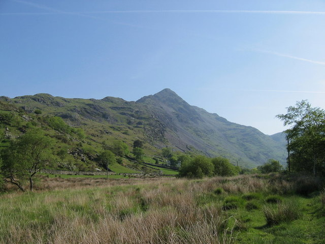 Cwm Croesor and the Cnicht