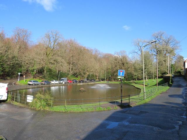 Pond at Holden Corner, southborough