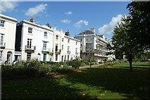 TR1457 : Houses beside Dane John Gardens by DS Pugh