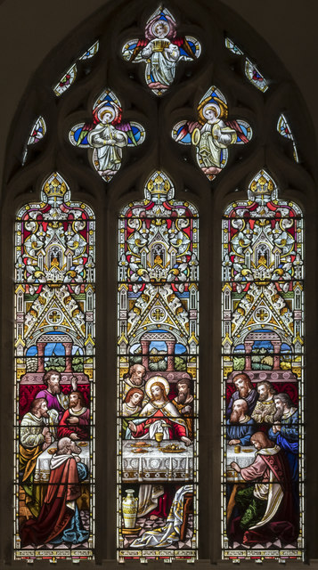 East window, St Thomas à Becket church, Greatford