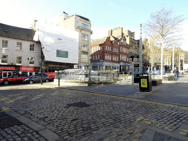 Bottom end of the Bigg Market