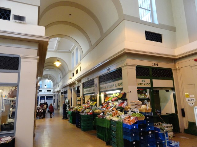 Inside the Grainger Market