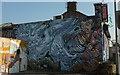 ST7082 : Mural, Station Road, Yate by Derek Harper