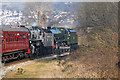 SE0640 : Keighley and Worth Valley Railway- at a standstill by Chris Allen