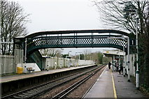 TQ2262 : Ewell East Station by Peter Trimming