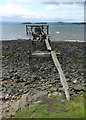 NT1984 : Derelict jetty at Hawkcraig Point by Mat Fascione