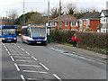NY3957 : Carlisle, Bus Stop on Scotland Road (A7) by David Dixon
