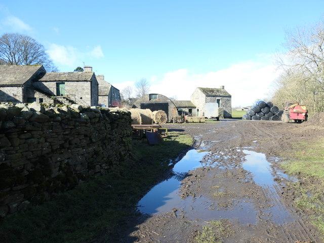 Step Ends farmyard, near Lonton