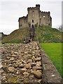 ST1876 : Cardiff Castle Keep by Graham Hogg