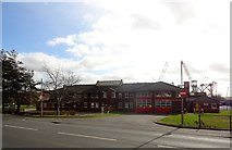 NZ3166 : Wallsend Fire Station by Robert Graham