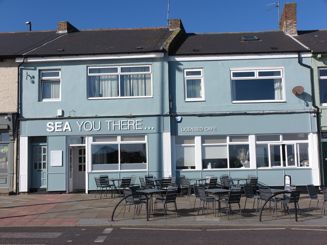 Sea You There... (Cafe) Victoria Crescent, Cullercoats