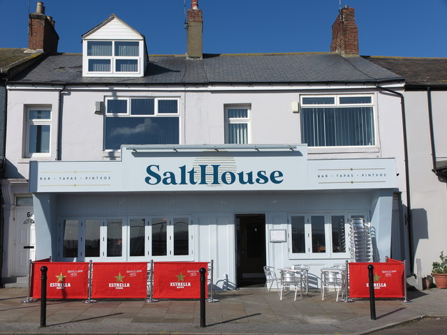 Salthouse (Cafe) Victoria Crescent Cullercoats