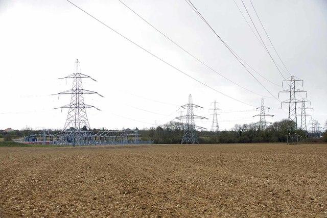 Electricity Substation Boreham