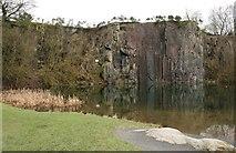 NS7177 : Auchinstarry Quarry by Richard Sutcliffe