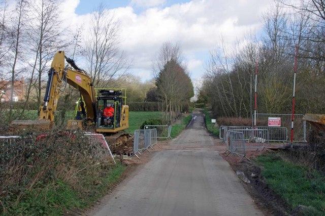 Construction on Generals Lane