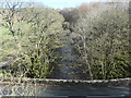 NY9524 : The River Lune, downstream from the Lune viaduct by Christine Johnstone
