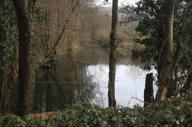 Disused canal, Newbridge