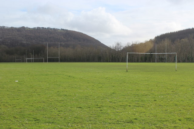 Football pitches, Newbridge