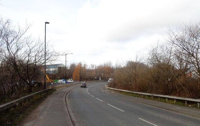 Hadrian Road at Willington Quay