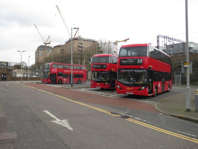 Walthamstow St. James Street bus terminus