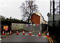ST3188 : Blocked part of Stow Hill, Newport by Jaggery