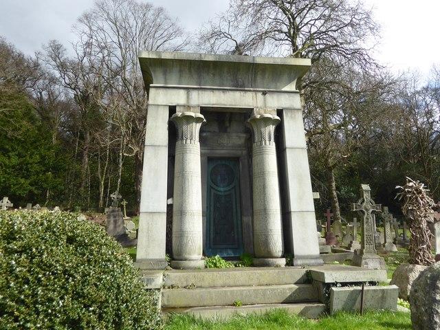 Tomb in Putney Vale Cemetery
