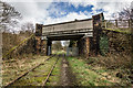 SJ9653 : Horse Bridge Crossing the Disused Train Lines by Brian Deegan