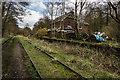 SJ9653 : Wall Grange Railway Station (Disused) by Brian Deegan