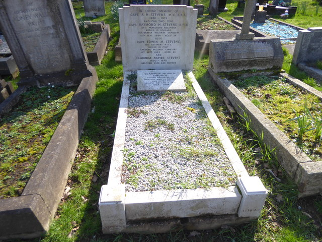 Two sons lost within a month, Putney Vale Cemetery