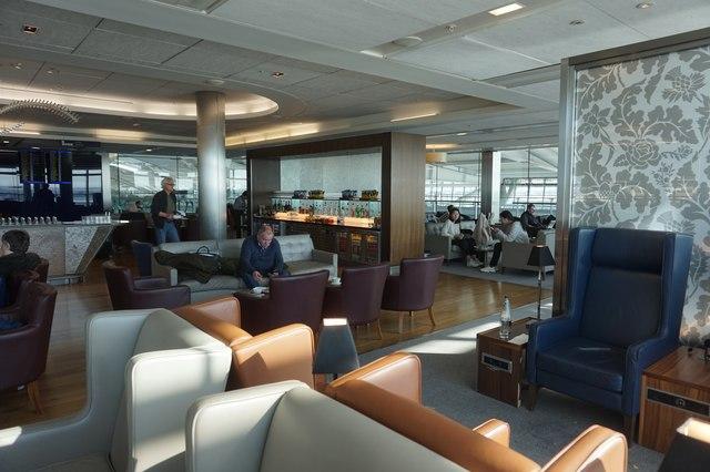 South Lounge (club class) T5, Heathrow Airport