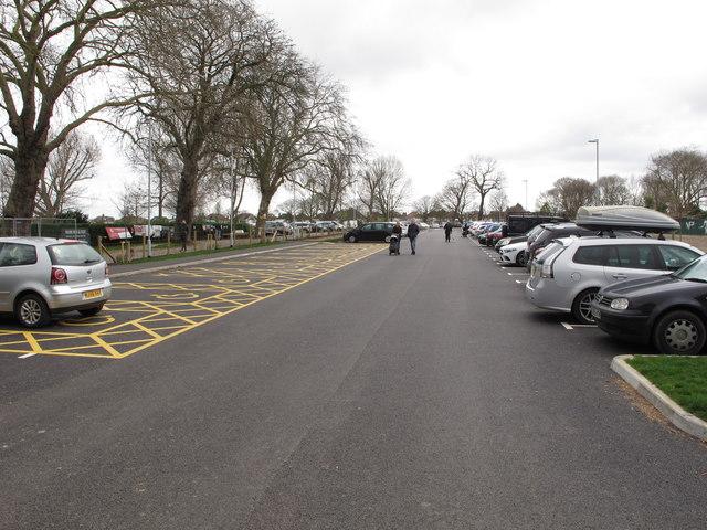 New car park for sports hall, Gunnersbury Park